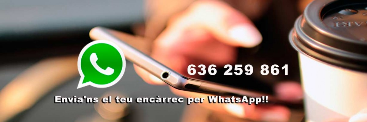 Farmàcia Bibiana Envia'ns el teu encàrrec per WhatsApp!! 636 259 861