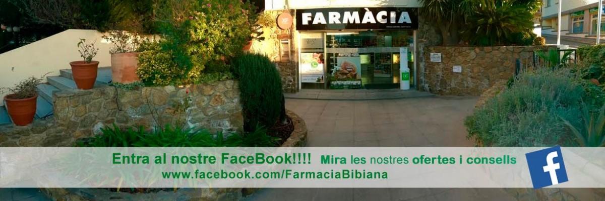 Facebook de farmàcia Bibiana a Roses, Girona