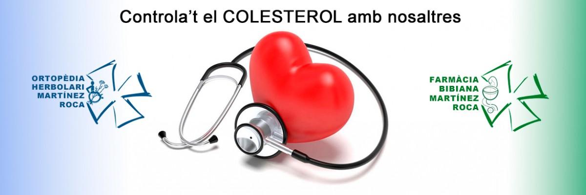 Controla't el colesterol a Farmàcia Bibiana de Roses
