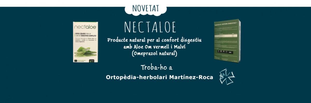 Nectaloe, troba-ho a Ortopèdia-herbolari Martínez-Roca de Roses, Girona