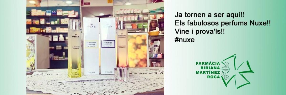 Ja tornen a ser aquí!! Els fabulosos perfums Nuxe!! Vine i prova'ls!! #nuxe